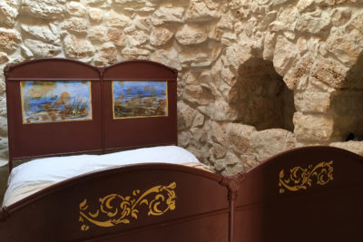 Pajara Marancio camera da letto matrimoniale   Residenza in pietra in affitto Salento Feudo Frammasi