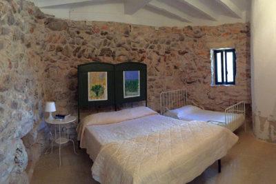 Residenza Pajara Curte camera da letto matrimoniale | Casa Vacanze in affitto Salento Feudo Frammasi