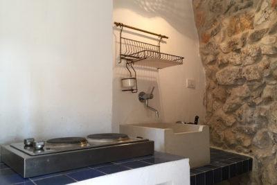 Residenza Pajara Curte angolo cottura | Casa Vacanze in affitto Salento Feudo Frammasi